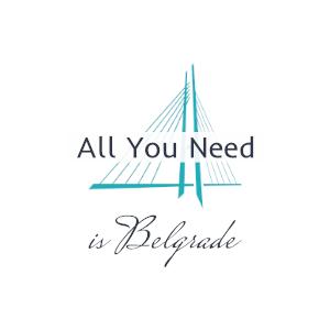 logo all you need is belgrade
